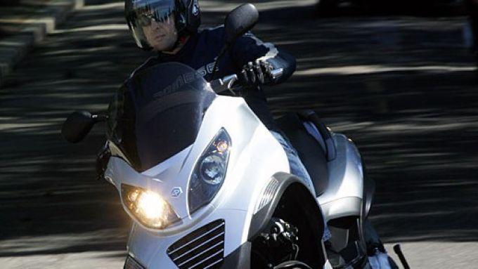 Immagine 31: Piaggio MP3, lo scooter con tre ruote
