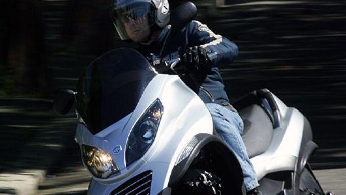 Immagine 32: Piaggio MP3, lo scooter con tre ruote