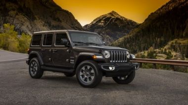 Listino prezzi Jeep Wrangler
