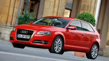 Listino prezzi Audi A3 Sportback 2011