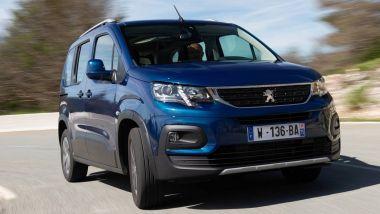 Listino prezzi Peugeot Rifter