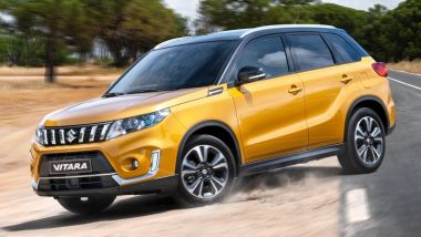 Listino prezzi Suzuki Vitara