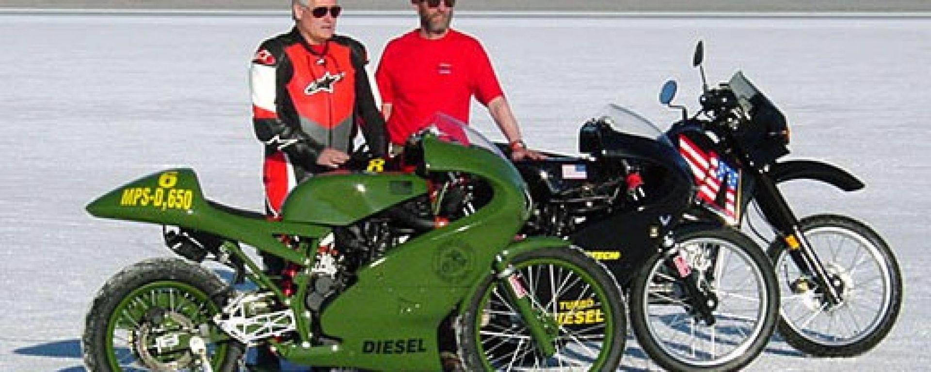 HDT Bulldog: la moto diesel