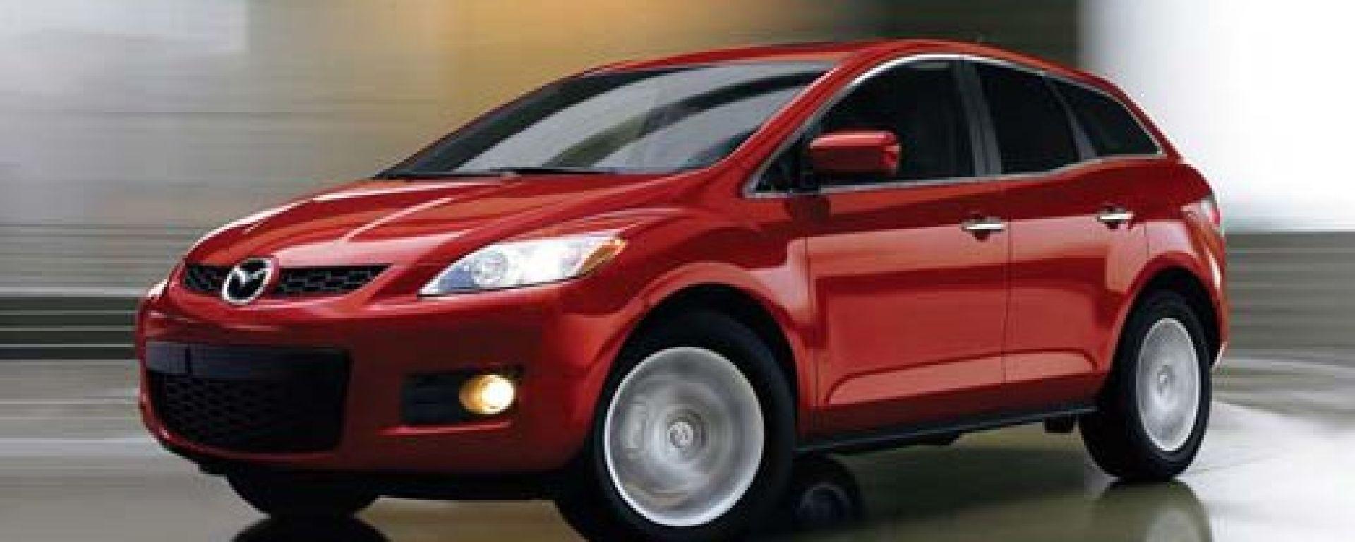 Mazda CX-7: le nuove foto