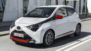 Listino prezzi Toyota Aygo