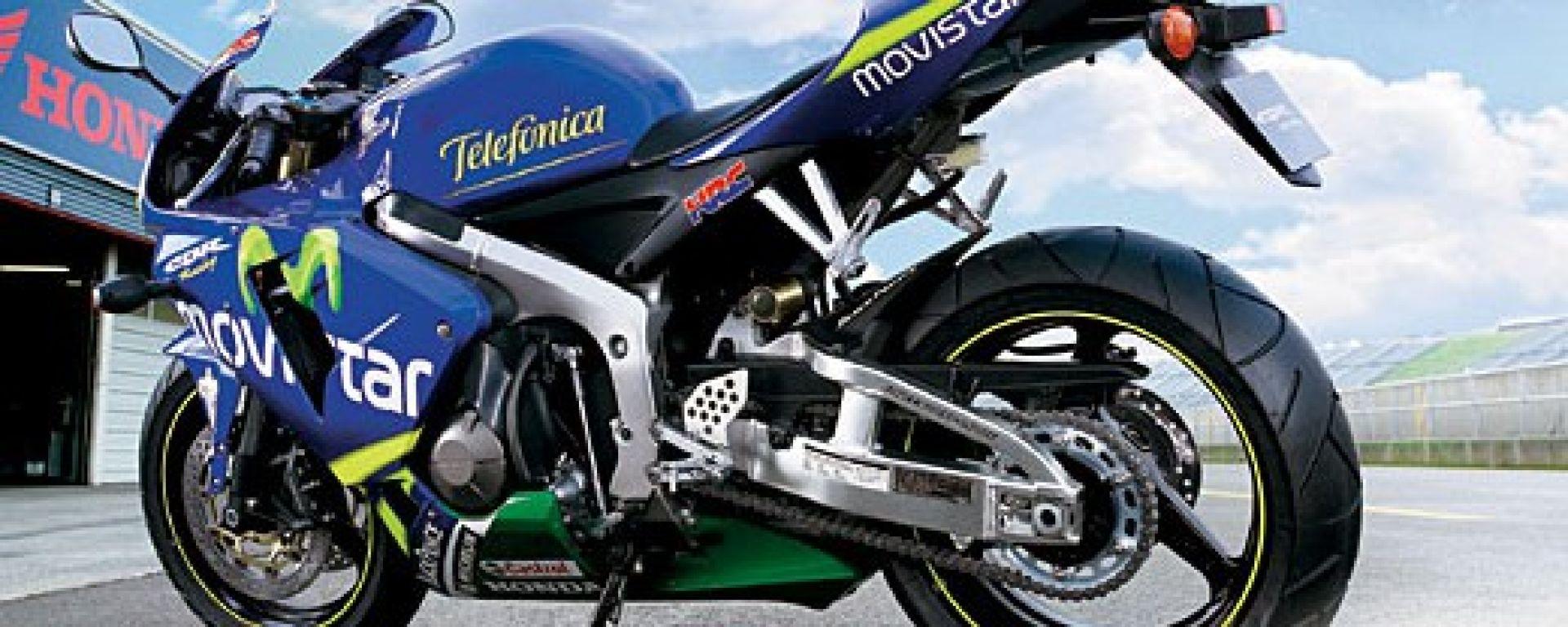 Honda CBR 600 RR Movistar