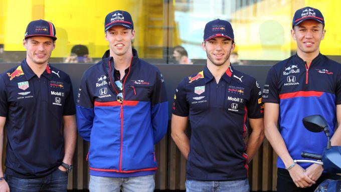 F1 2019: Verstappen, Kvyat, Gasly e Albon
