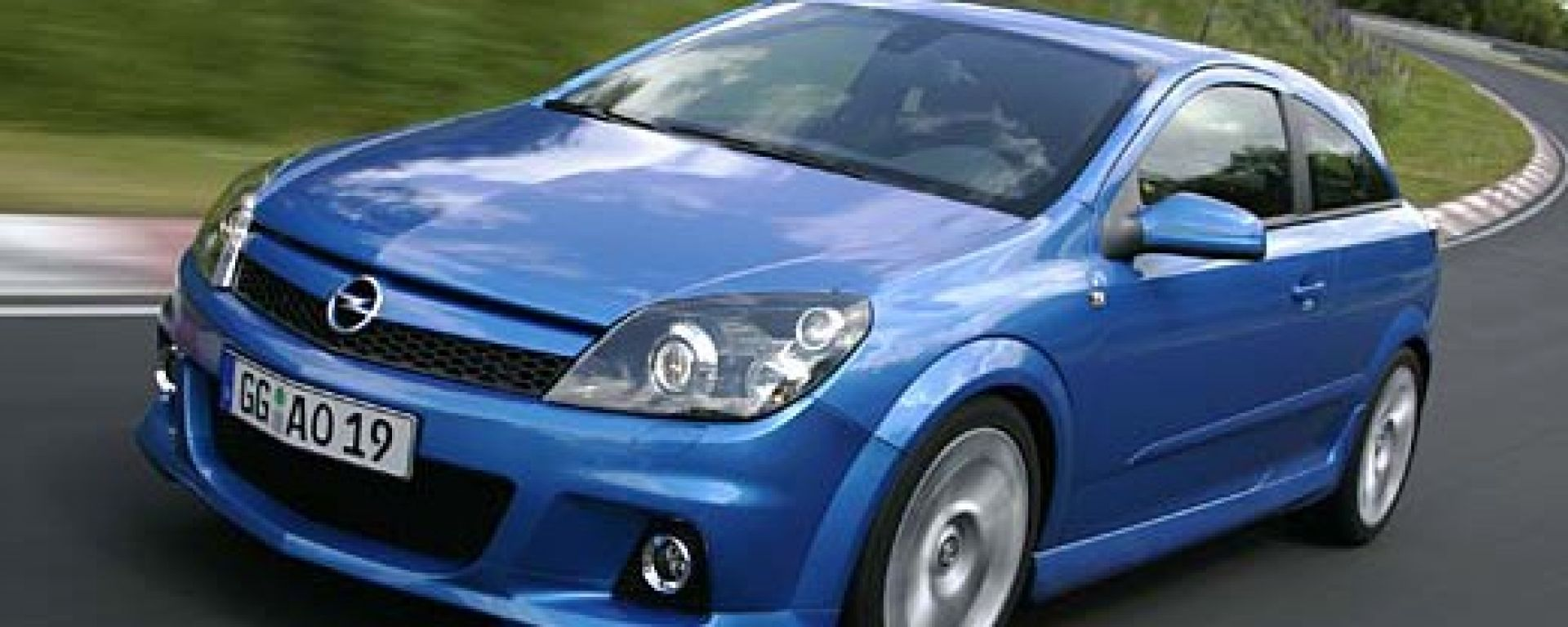 Opel Astra e Zafira OPC