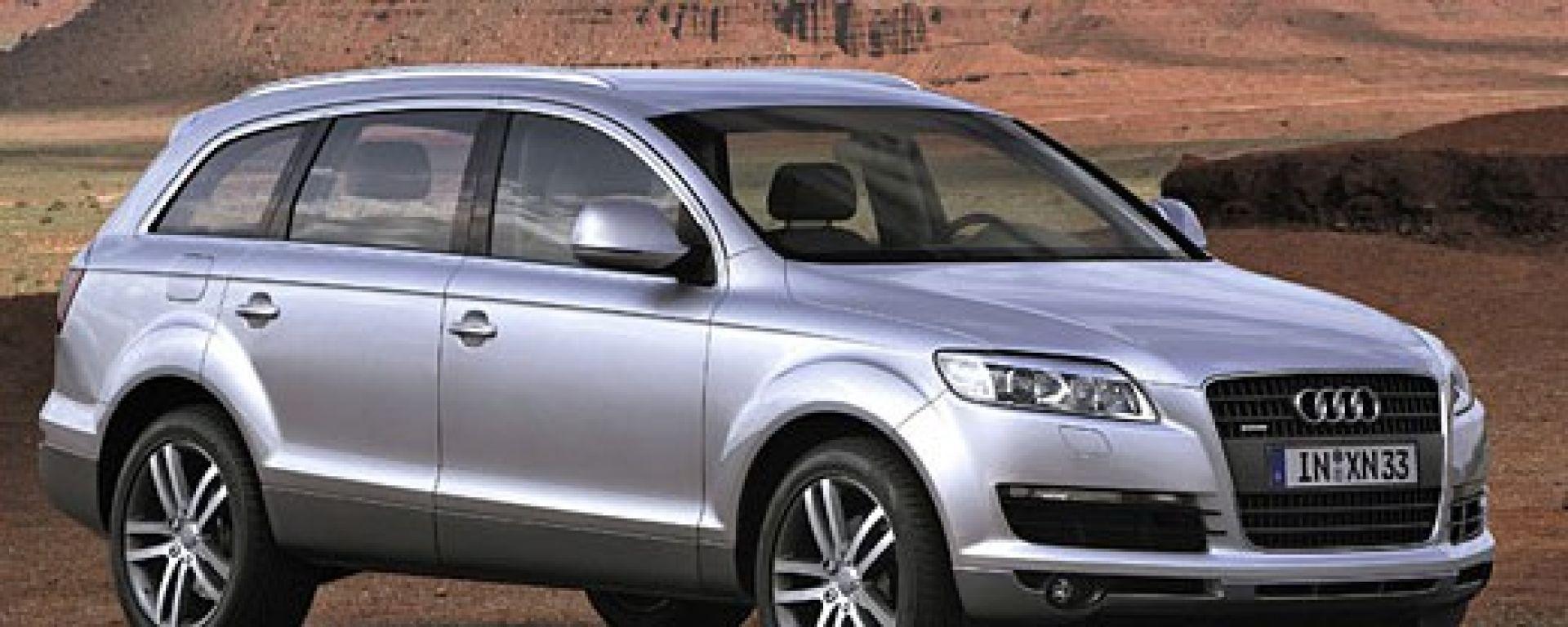 Audi Q7: ecco com'è fatta