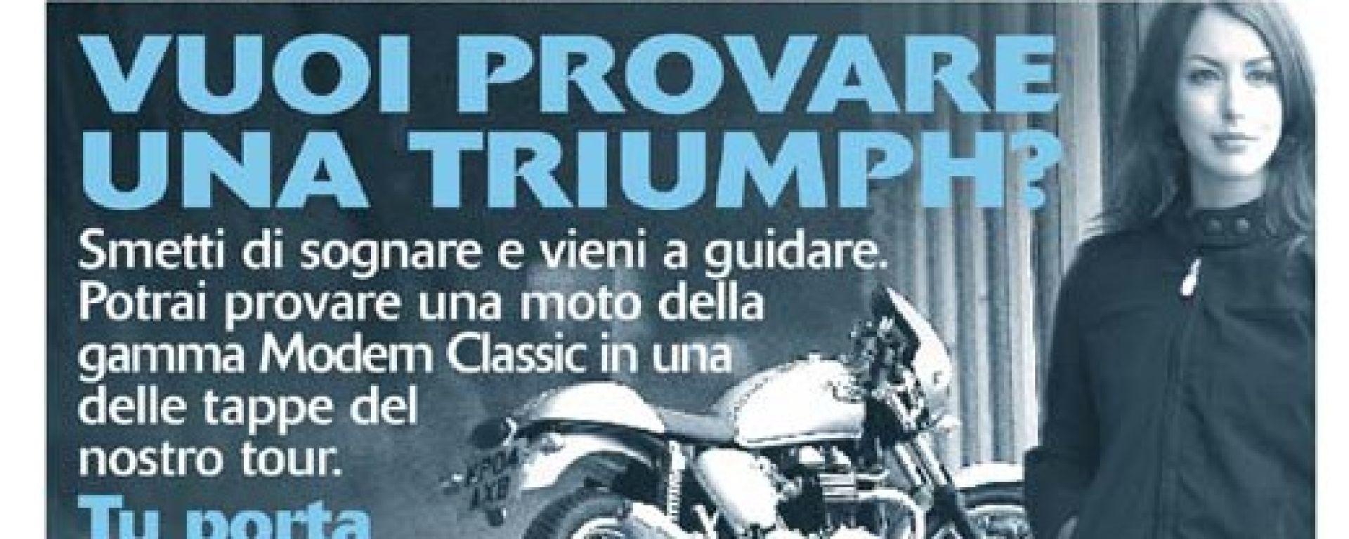 TRIUMPH: Modern Classic Demo Ride