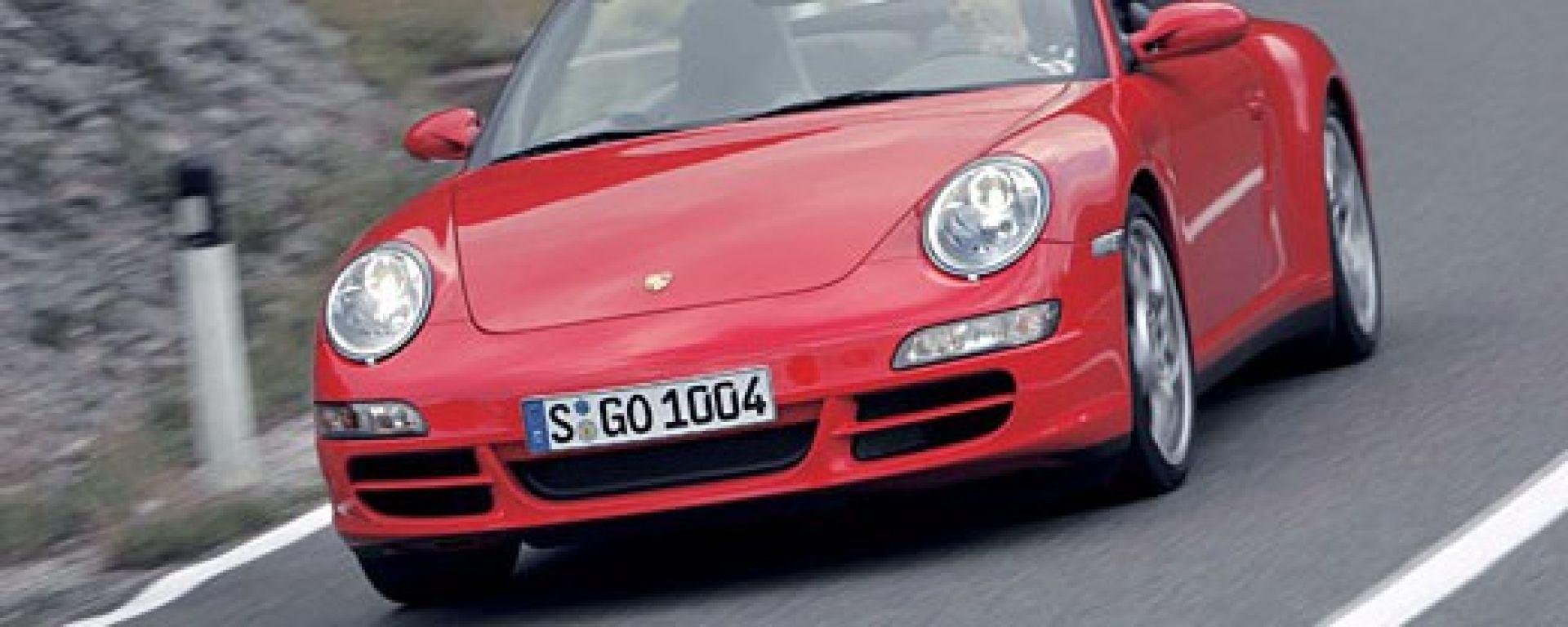 Porsche 911 Carrera 4 e 4S Cabriolet