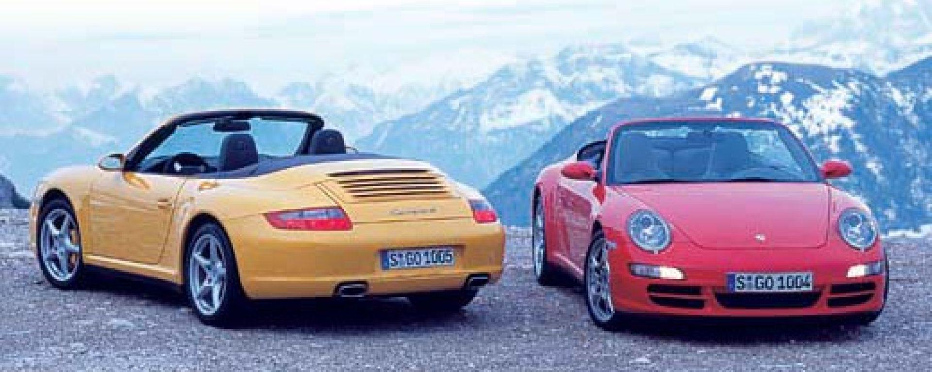 Porsche Carrera 4 e 4S Cabrio