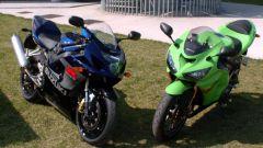Kawasaki ZX6-R vs Suzuki GSX-R 750 - Immagine: 28