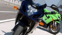 Kawasaki ZX6-R vs Suzuki GSX-R 750 - Immagine: 26