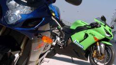 Kawasaki ZX6-R vs Suzuki GSX-R 750 - Immagine: 25