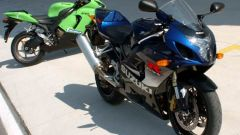 Kawasaki ZX6-R vs Suzuki GSX-R 750 - Immagine: 24