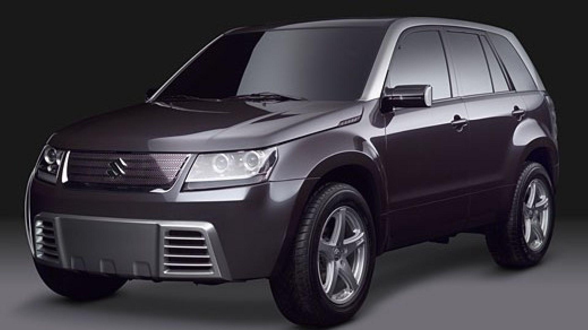 suzuki concept x2 sar la nuova gran vitara motorbox. Black Bedroom Furniture Sets. Home Design Ideas