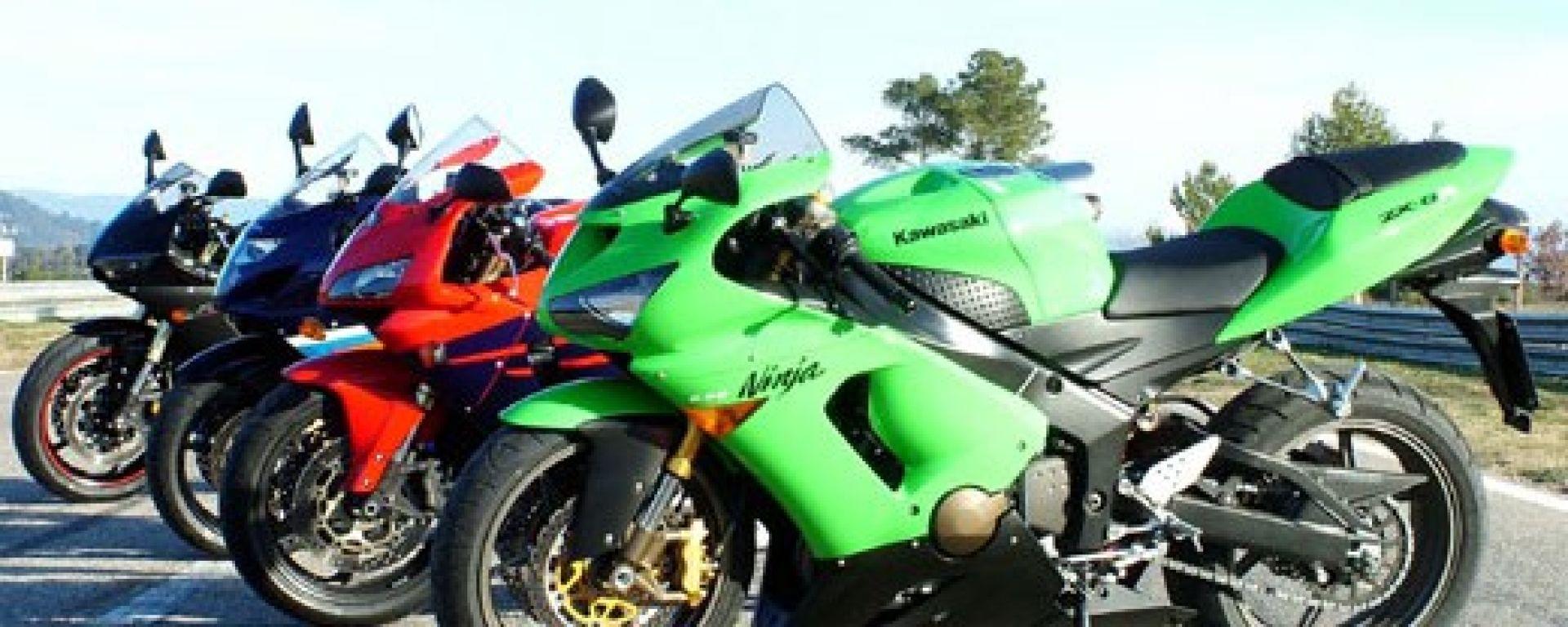 Confronto Supersport 600 2005