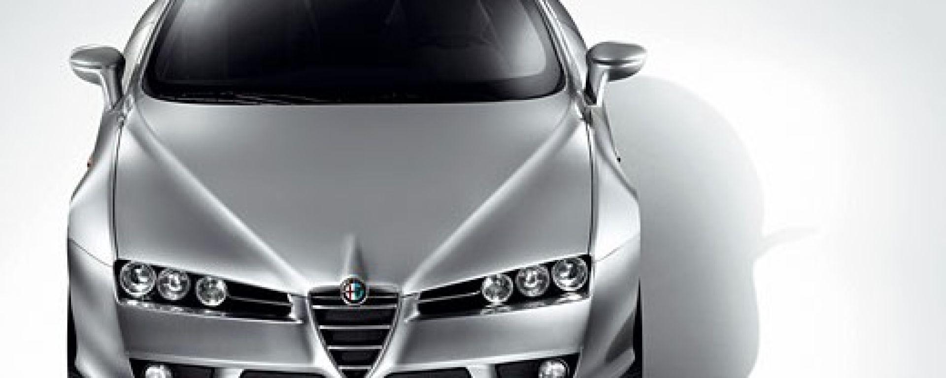 Le prime foto della Alfa Romeo Brera