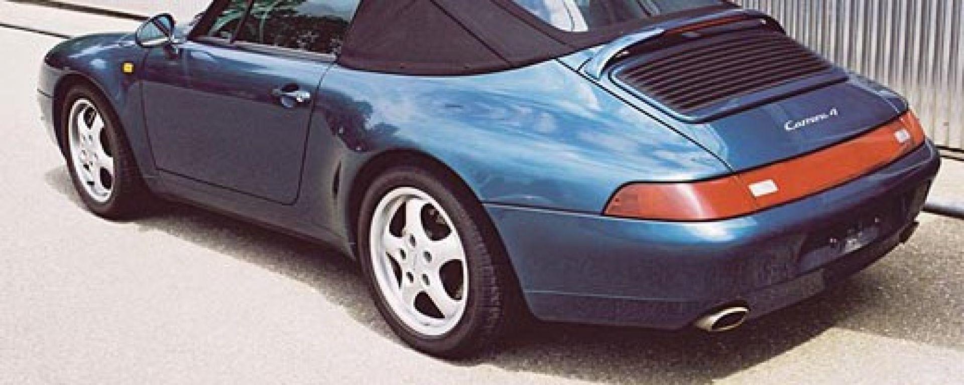 PORSCHE: richiamo per le 911 Cabrio