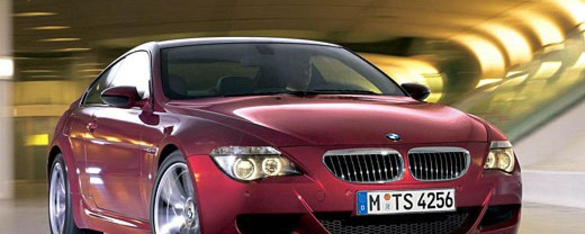 La BMW M6 ai raggi X