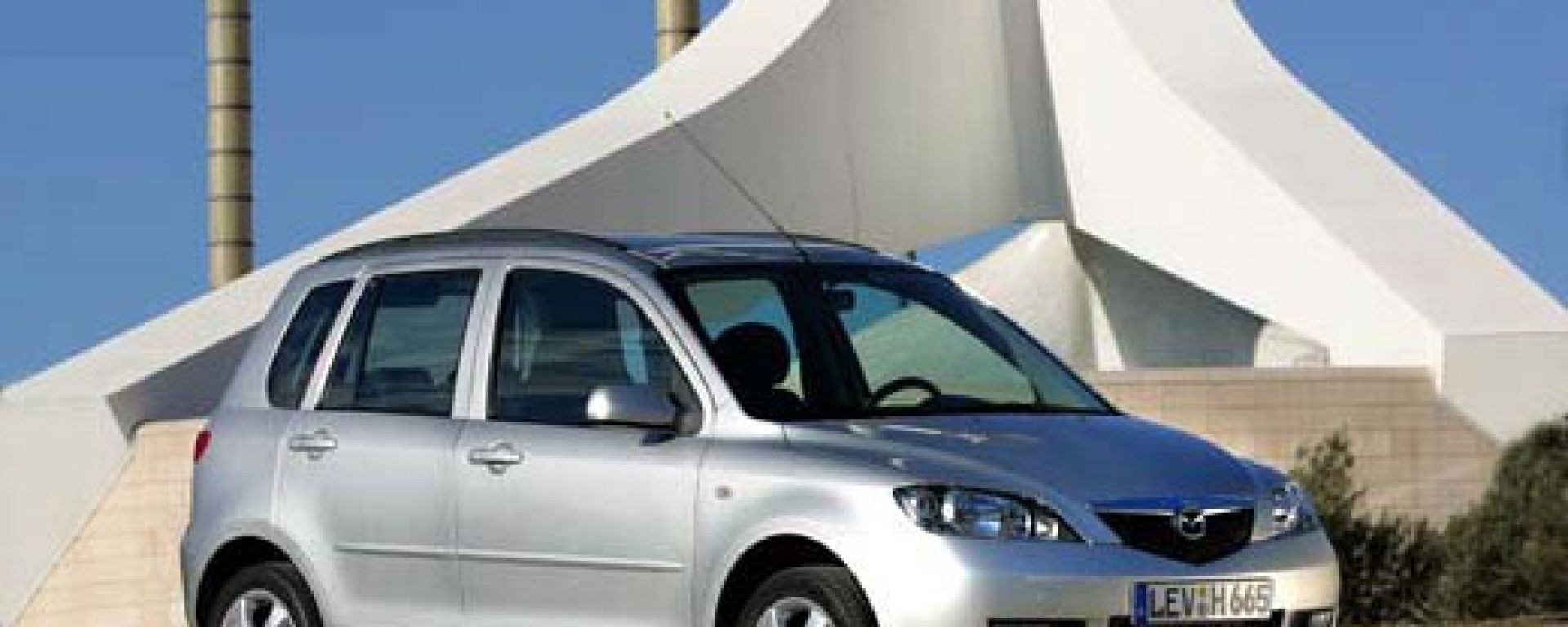 Crash test: Mazda2