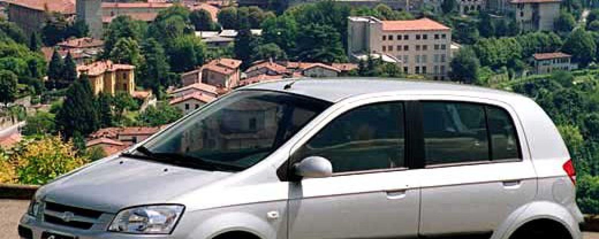Crash test: Hyundai Getz
