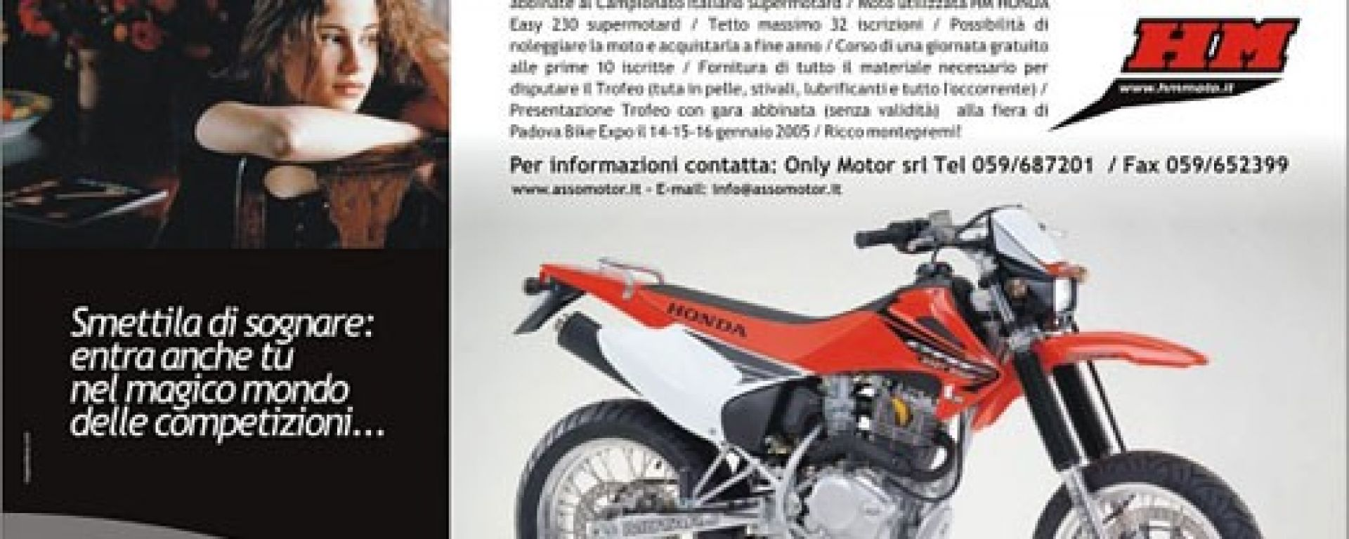 HONDA-HM: arriva il motard al femminile