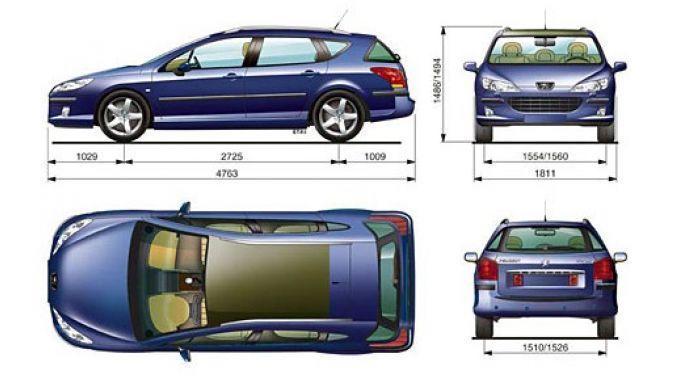 Immagine 11: Peugeot 407 SW HDi