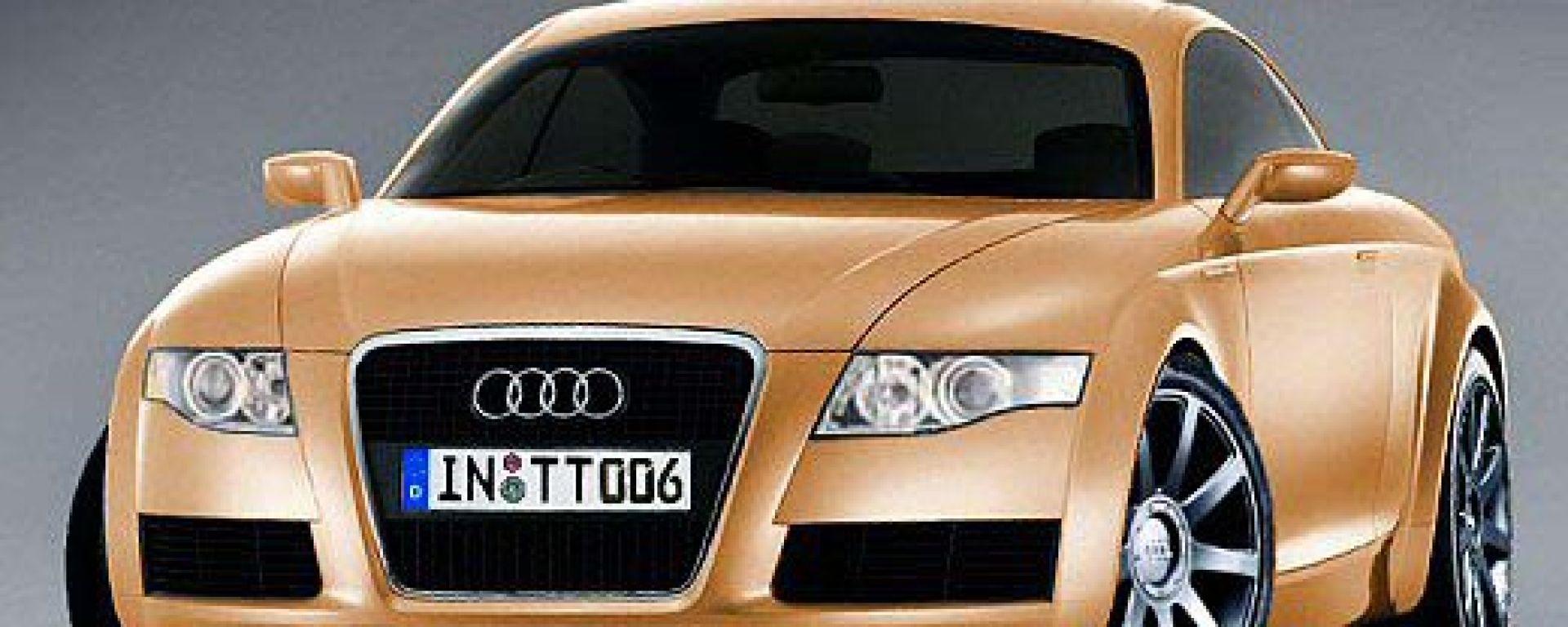 Sarà così la nuova Audi TT?