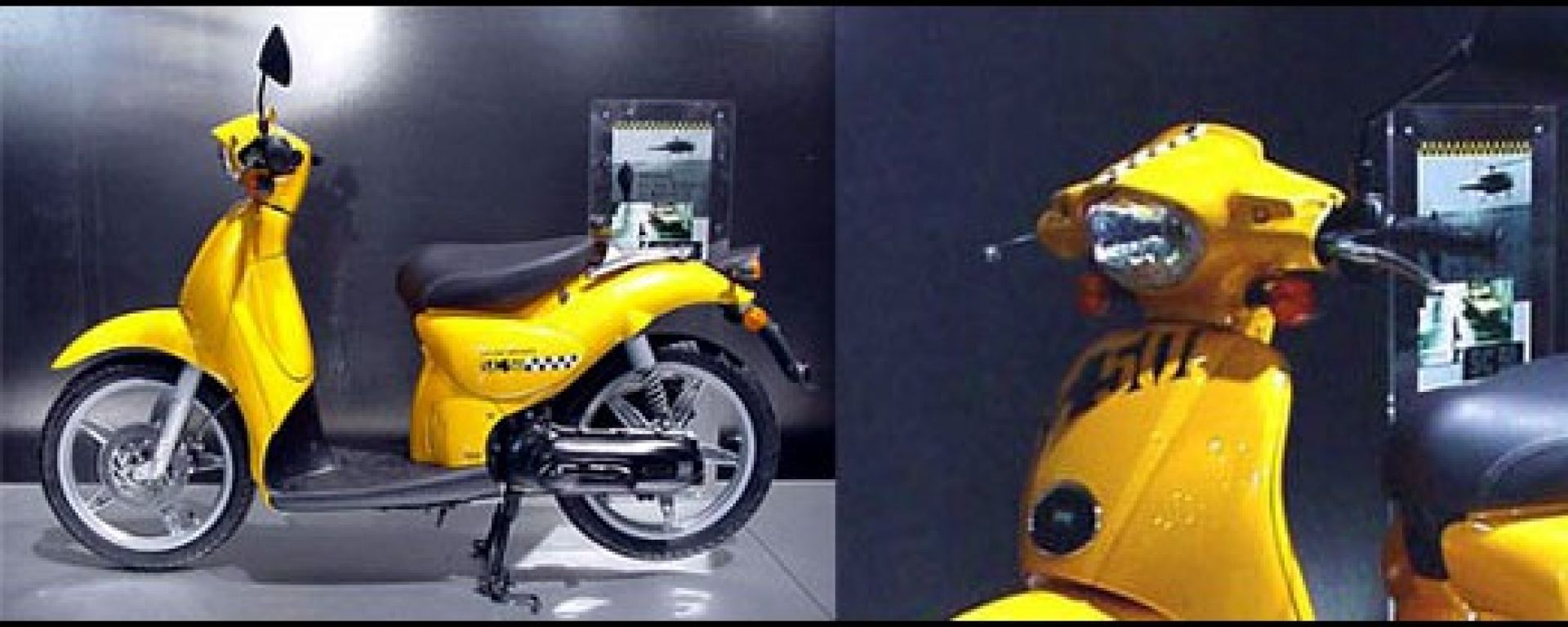 "Aprilia Scarabeo: kit ""Yellow Cab"""