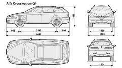 Alfa Crosswagon Q4 - Immagine: 14