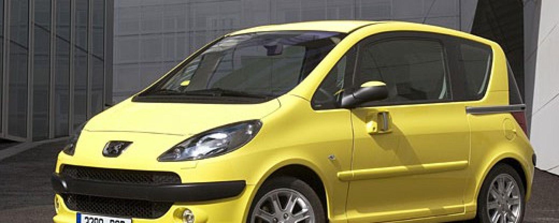 Anteprima: Peugeot 1007