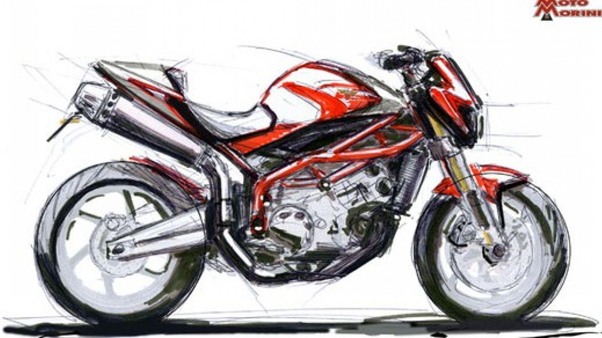 Immagine 1: Moto Morini: i primi disegni