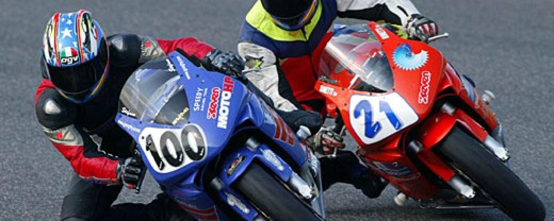 In gara con la Honda CBR 600 RR by Rumi