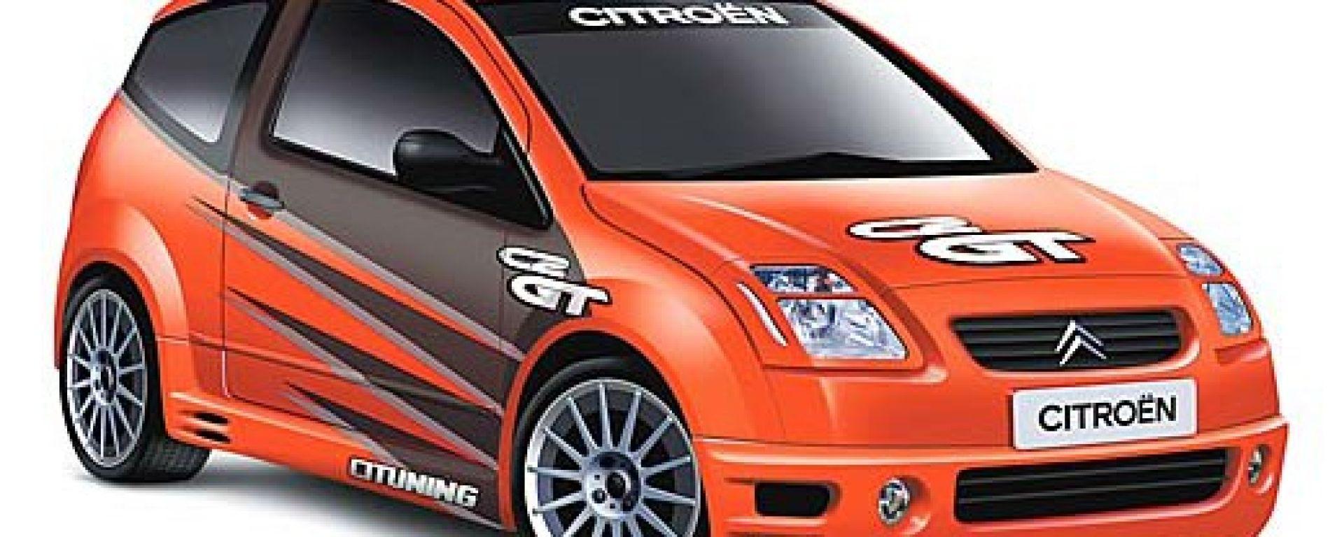 Anteprima: Citroën C2 GT