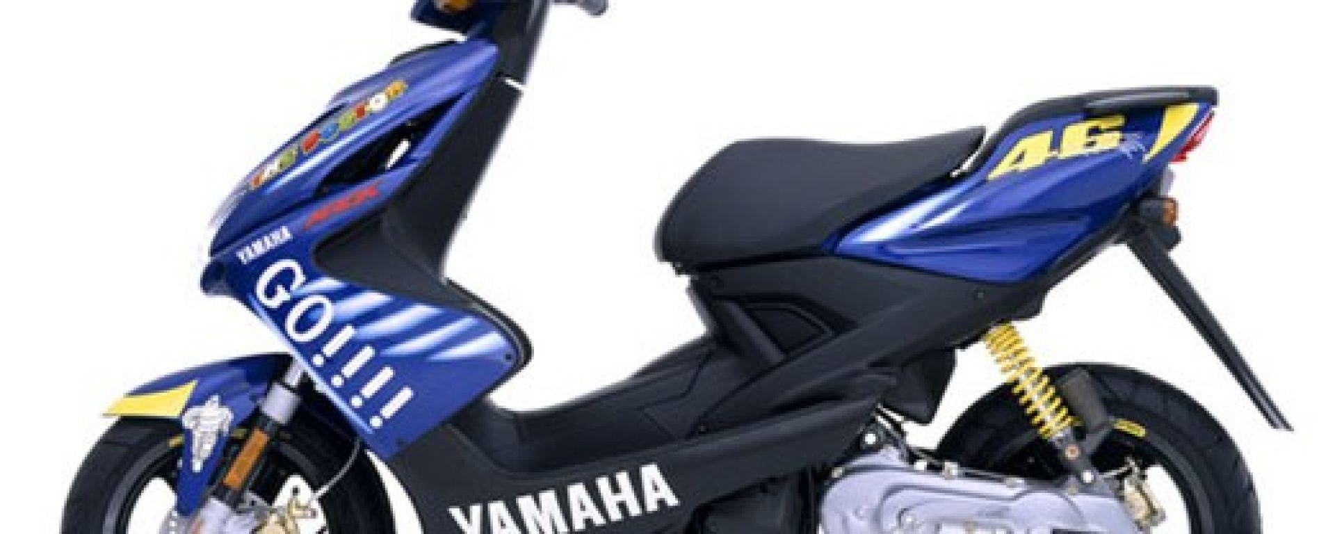 Yamaha Aerox Rossi Replica