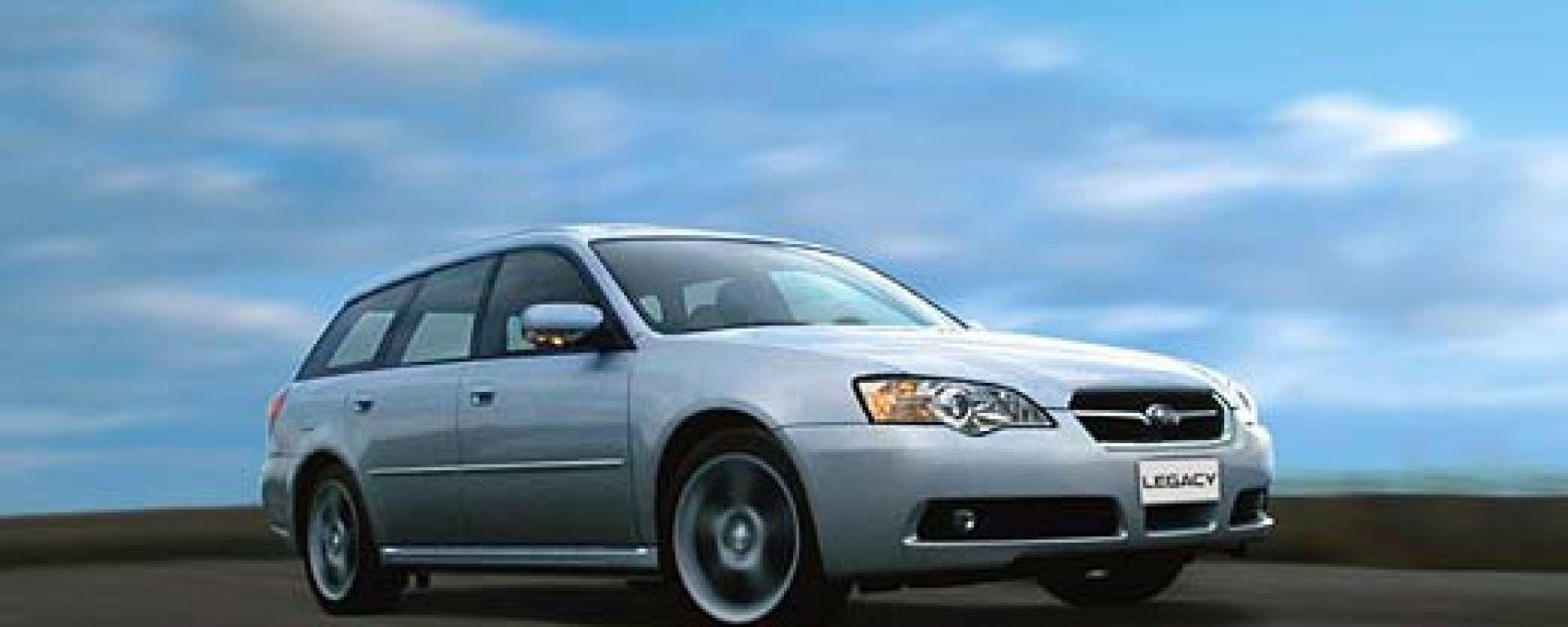 Subaru Legacy e Outback 3.0R