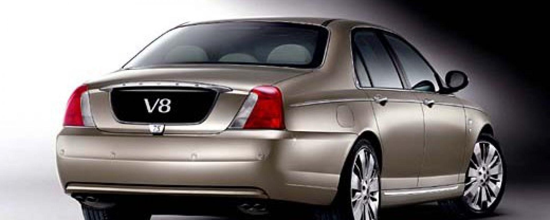 Anteprima: Rover 75 V8