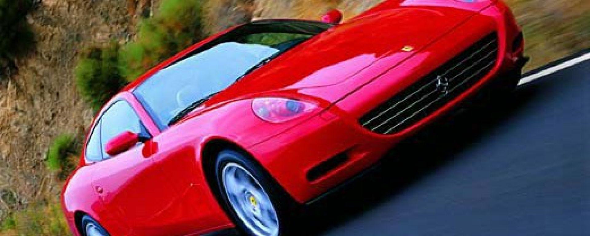 La Ferrari 612 Scaglietti in 70 immagini inedite