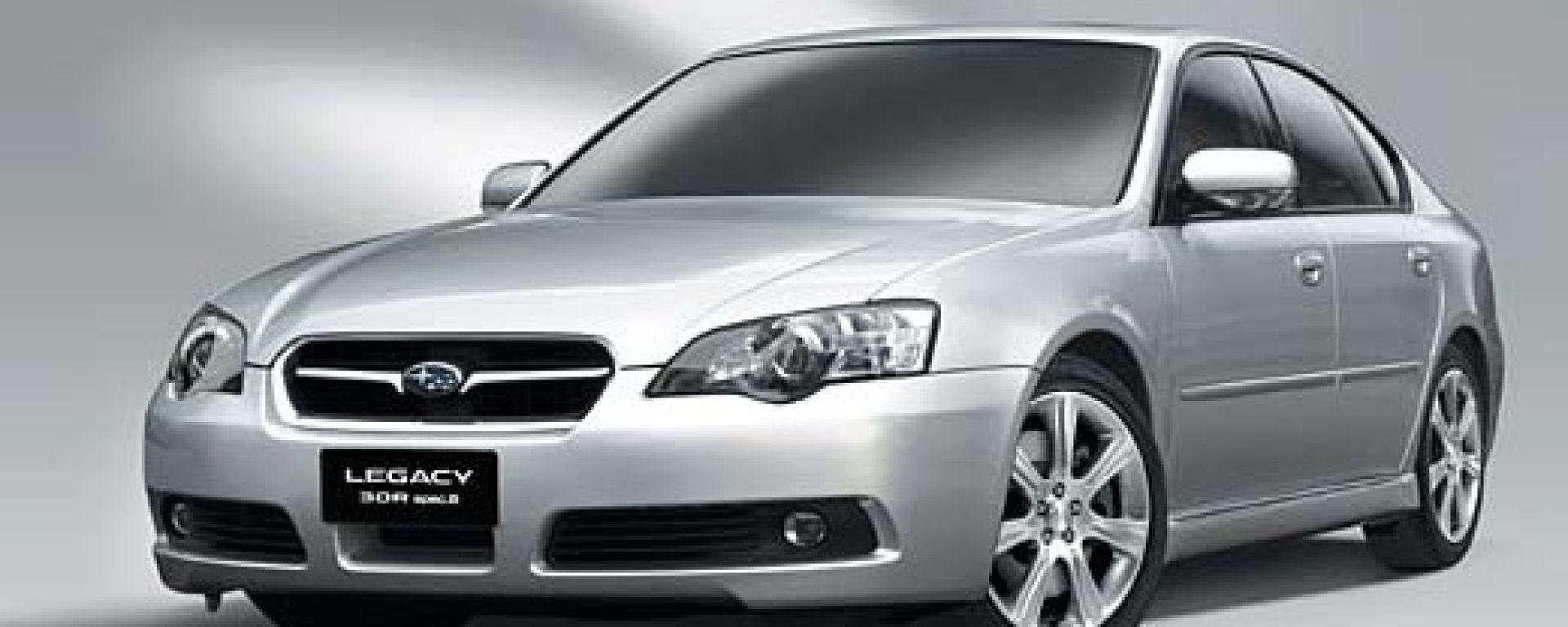 Anteprima: Subaru Legacy Spec B
