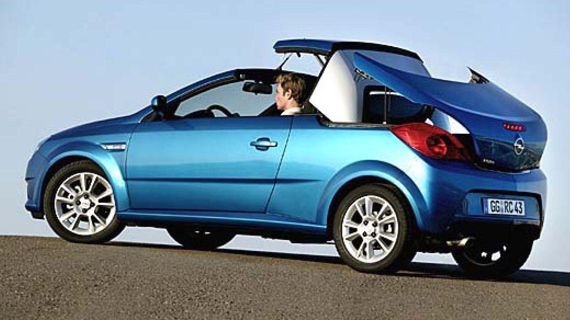 Anteprima  Opel Tigra Twintop