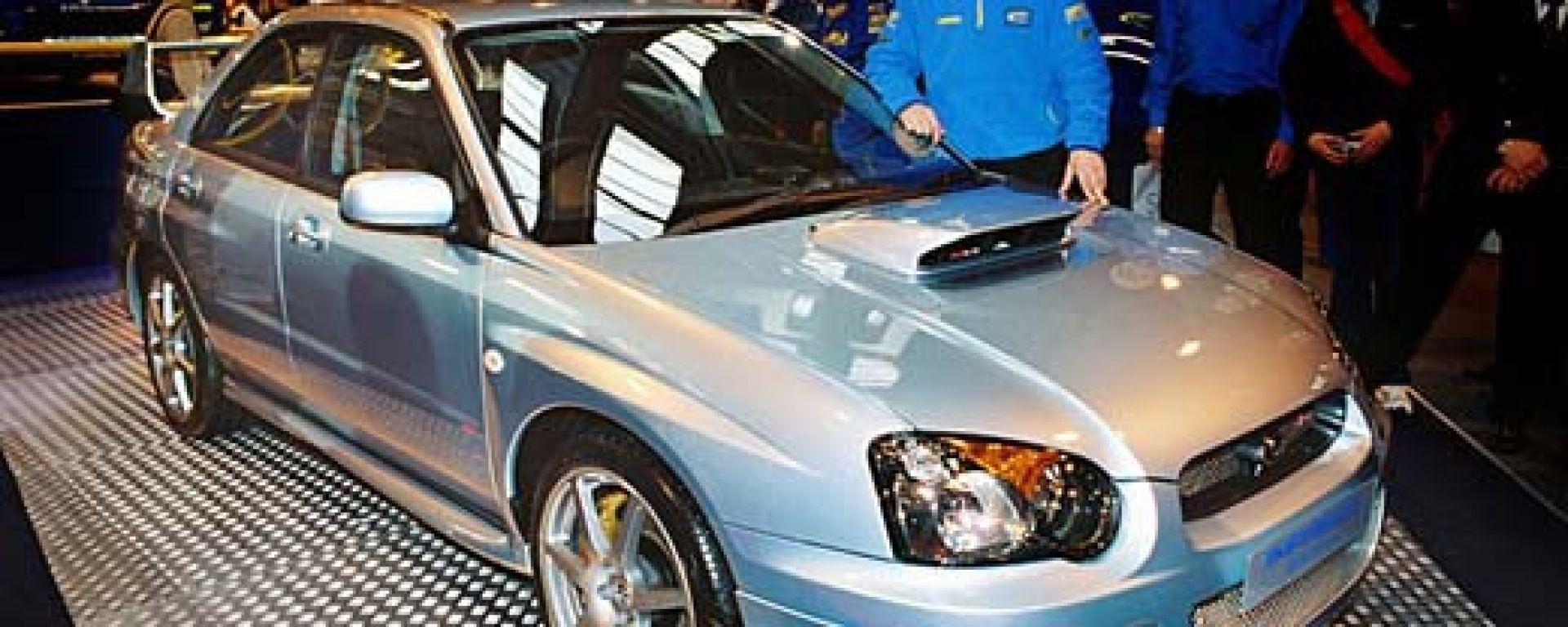 Anteprima: Subaru Impreza STi WR1