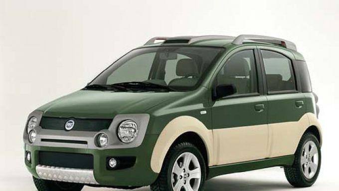 Immagine 1: Tre Panda in anteprima:4x4, SUV e Abarth Rally