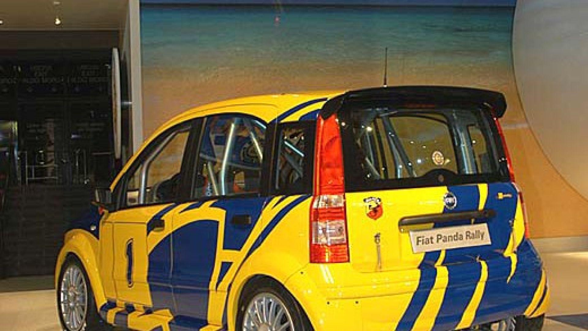 Immagine 7: Tre Panda in anteprima:4x4, SUV e Abarth Rally