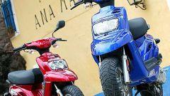 In sella a: Yamaha BW'S 2004 - Immagine: 17
