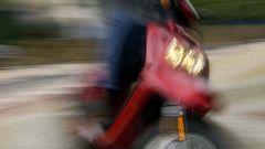 In sella a: Yamaha BW'S 2004 - Immagine: 24