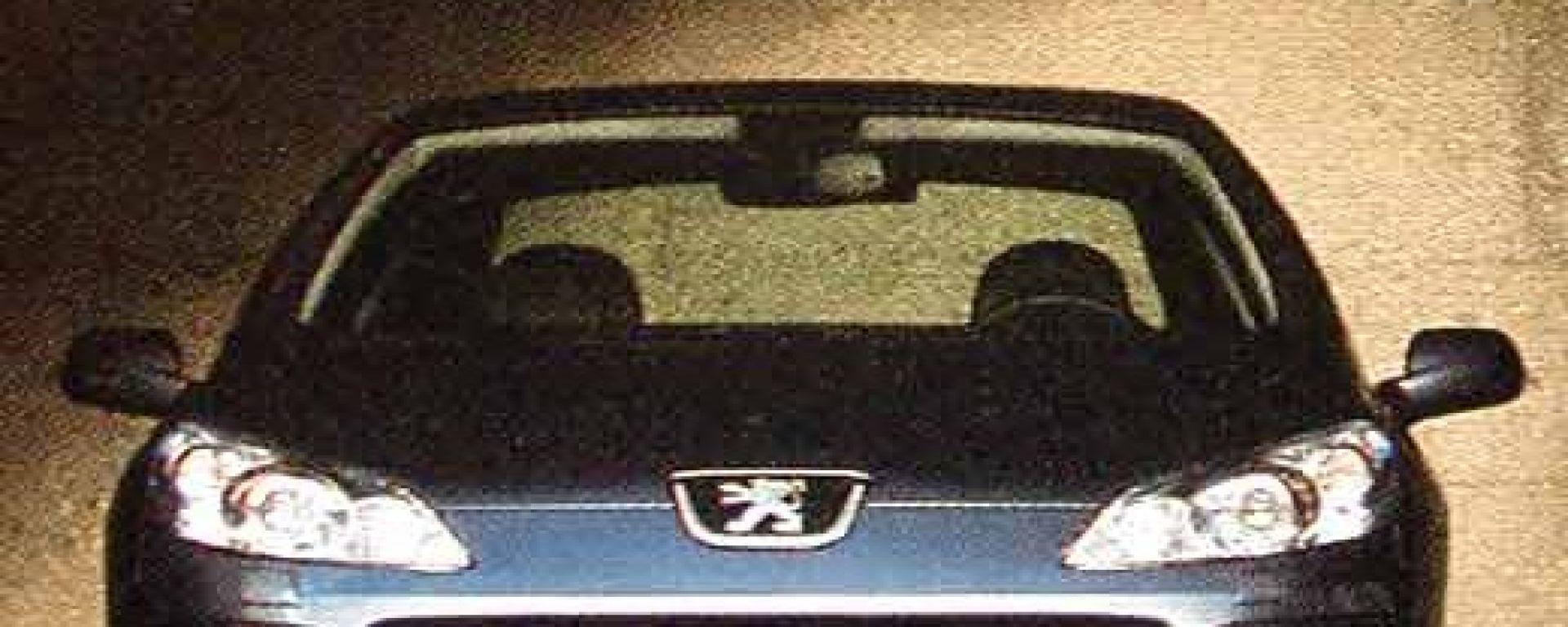 Peugeot 407: le prime immagini