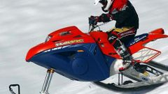 Off limits: Snow Hawk la vera moto-slitta - Immagine: 50
