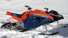 Off limits: Snow Hawk la vera moto-slitta - Immagine: 32